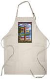 Acadia National Park, Maine - Sign Destinations Apron Apron