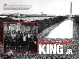 Martin Luther King Jr.- March - Educational Poster Posters