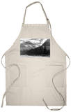 Glacier Nat'l Park, Montana - Going-to-the-Sun Hwy View Apron Apron