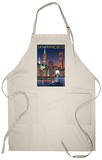 San Francisco, California Skyline at Night Apron Apron