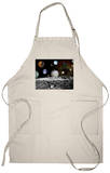 Solar System Montage of Voyager Images Photograph - Outer Space Apron Apron