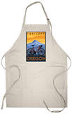 Portland, Oregon, Mountain Bike Scene Apron Apron