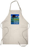 Who Said Can't - Try Trying - Airplane Flying Apron Apron