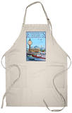 San Francisco, California - Fisherman&#39;s Wharf Apron Apron