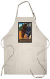 Don't Feed the Bears, Yellowstone National Park, Wyoming Apron Apron