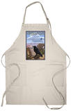 Grand Canyon National Park - Ravens and Angels Window Apron Apron