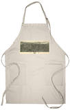 Tulsa, Oklahoma - Panoramic Map Apron Apron