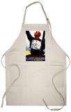 Bavaria, Germany - 1936 Olympic Winter Games Advertisement Apron Apron