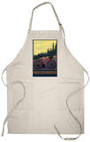 Breckenridge, Colorado - Mountain Bike Apron Apron
