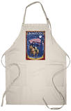 Old North Church and Paul Revere - Boston, MA Apron Apron