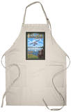 Lake Union Float Plane, Seattle, Washington Apron Apron