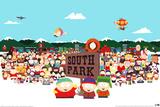 Magnetkollektion: Southpark-Besetzung Poster