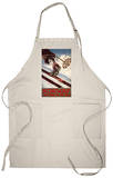 Norway - The Home of Skiing Apron Apron