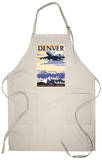 Denver, Colorado - Airport View Apron Apron