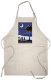 South Carolina Palmetto Moon Apron Apron