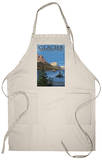 Glacier National Park - St. Mary Lake, c.2009 Apron Apron