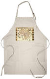 Africa - Panoramic Map - Africa Apron Apron