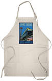 Space Needle and Monorail, Seattle, Washington Apron Apron