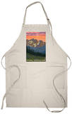Spring Flowers, Olympic National Park Apron Apron