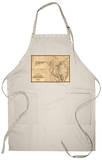 Maryland - Panoramic Map Apron Apron