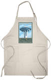 Visit the Space Needle, Seattle, Washington Apron Apron