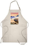 California Beaches - Woody on Beach Apron Apron