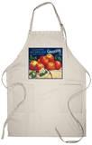 Sebastopol Gravensteins Apple Label - Sonoma, CA Apron Apron