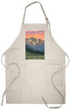 Rocky Mountain National Park, Co - Spring Flowers, c.2009 Apron Apron