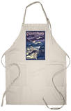 Catalina Island, California - Flying Fish Apron Apron