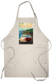 Big Sur, California - VW Coastal Drive Apron Apron