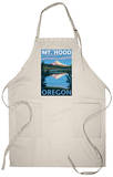 Mount Hood, Oregon, View of the Mountain from Lost Lake Apron Apron