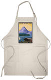 Two Medicine Lake - Glacier National Park, Montana Apron Apron