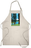 Mt. Hood and River - Oregon Scene Apron Apron