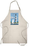 Cape Lookout Lighthouse - Outer Banks, North Carolina Apron Apron