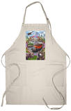 Glacier National Park Views Apron Apron