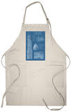 Sears Tower Blue Print - Chicago, Il, c.2009 Apron Apron