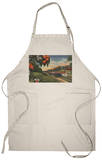 Train- Orange Blossom Special - Florida Apron Apron
