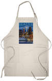 Seattle, Washington at Night, c.2008 Apron Apron