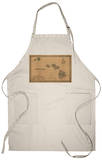 Hawaii - Panoramic State Map Apron Apron