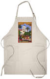 San Diego, California - Old Town Apron Apron