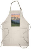 Spring Flowers, Yellowstone National Park Apron Apron