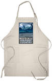 Mount St. Helens - Bigfoot Scene Apron Apron