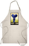 Visit the Zoo - Elephant Charging Apron Apron