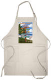 Key West, Florida - Destination Signs Apron Apron