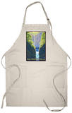 Multnomah Falls, Oregon - Maiden of the Falls Apron Apron