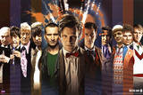 Doctor Who Doctors Collage Prints