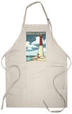 Barnegat Lighthouse - New Jersey Shore Apron Apron