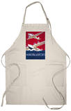 New York City Municipal Airport Vintage - New York, NY Apron Apron
