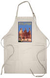 Bryce National Park, Utah, Summer Scene Apron Apron