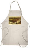 New Orleans, Louisiana - Panoramic Map Apron Apron
